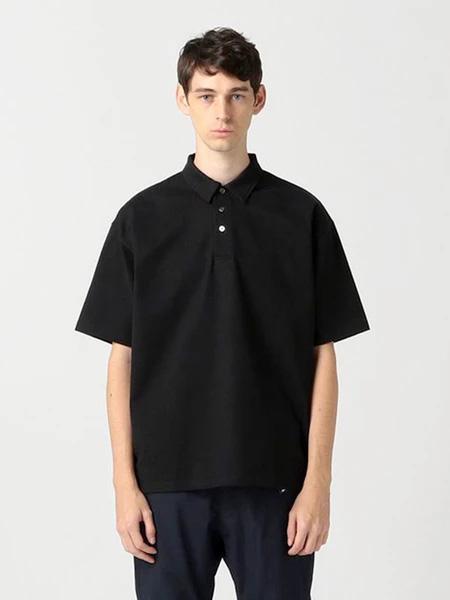 Pilgrim Surf Supply国际品牌品牌2019秋冬黑色POLO衫