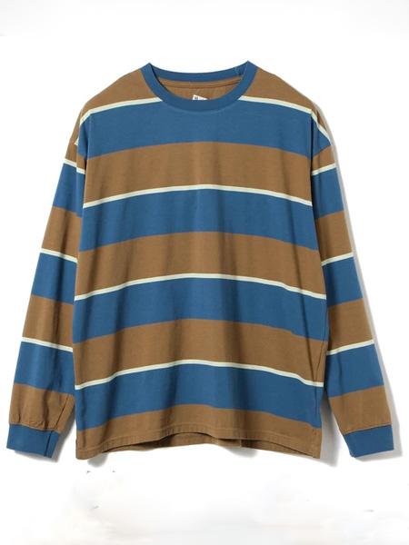 Pilgrim Surf Supply国际品牌品牌2019秋冬条纹T恤