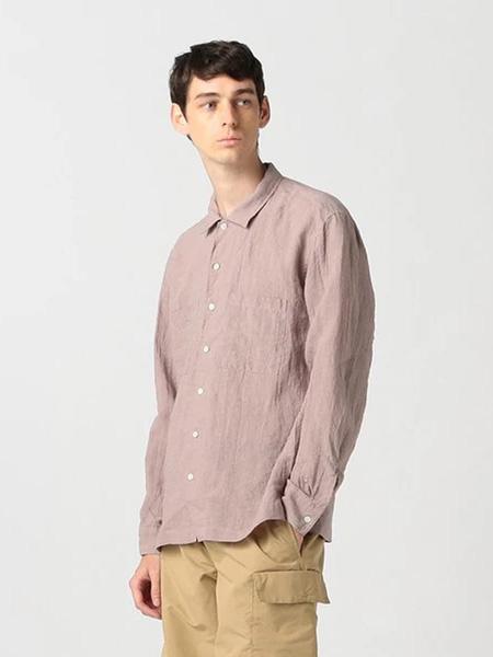 Pilgrim Surf Supply国际品牌品牌2019秋冬粉色衬衫