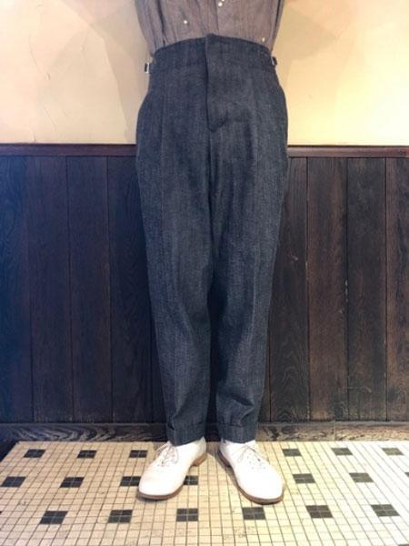 Haversack男装品牌2019秋冬黑色裤子