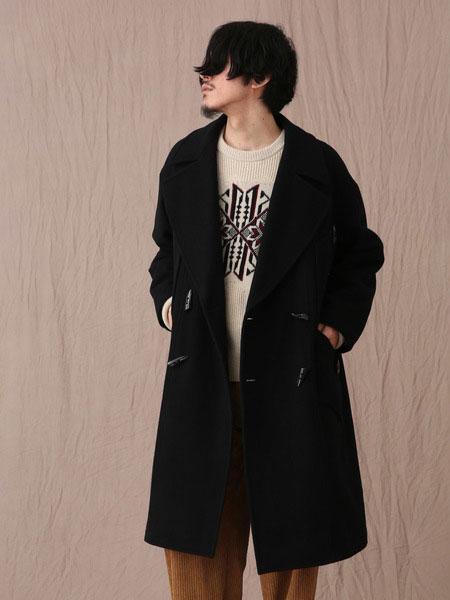 Iroquois男装品牌2019秋冬黑色外套