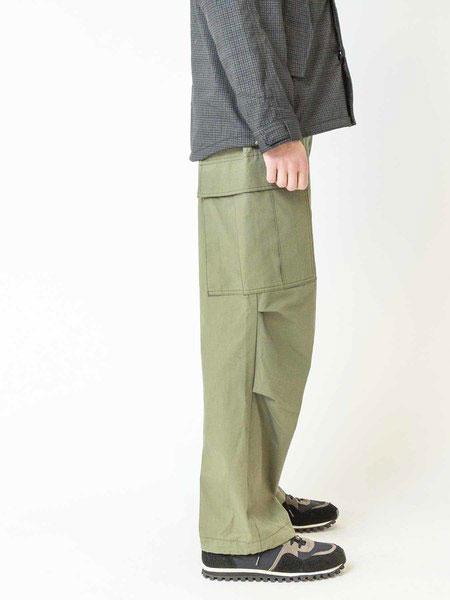 Johnbull国际品牌品牌2019秋冬绿色休闲裤