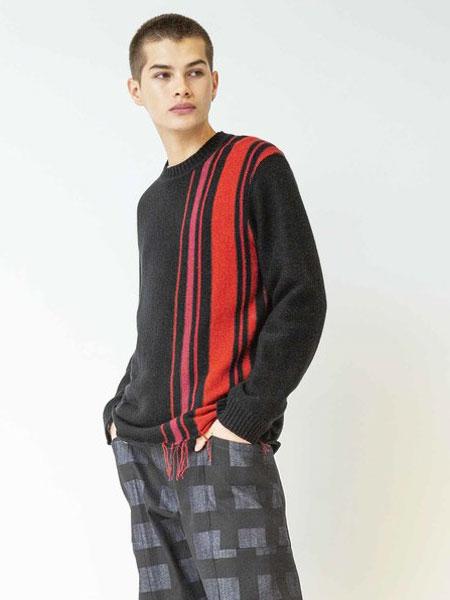 Johnbull国际品牌品牌2019秋冬黑色印花卫衣