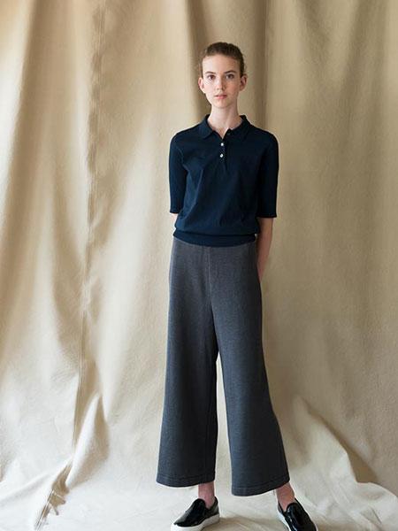 WRAPINKNOT国际品牌品牌2019春夏灰色裤子