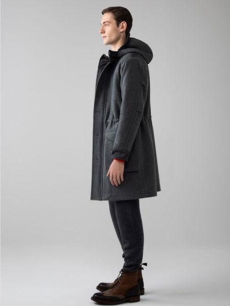 Johnstons of Elgin国际品牌品牌2019秋冬灰色外套