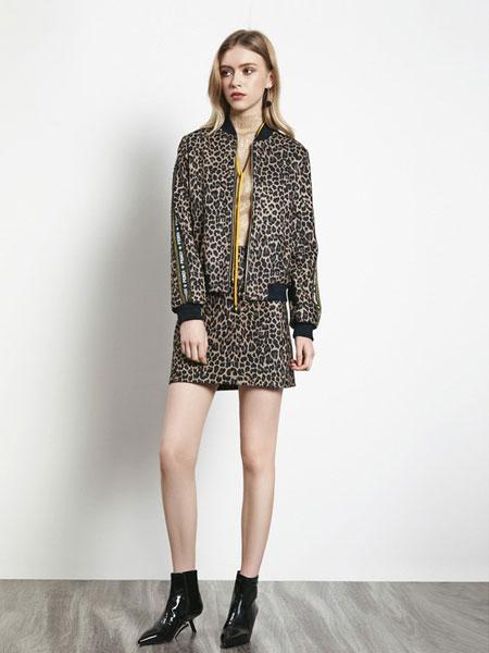 例格女装品牌2019秋冬新款时尚宽松显瘦休闲短款外套