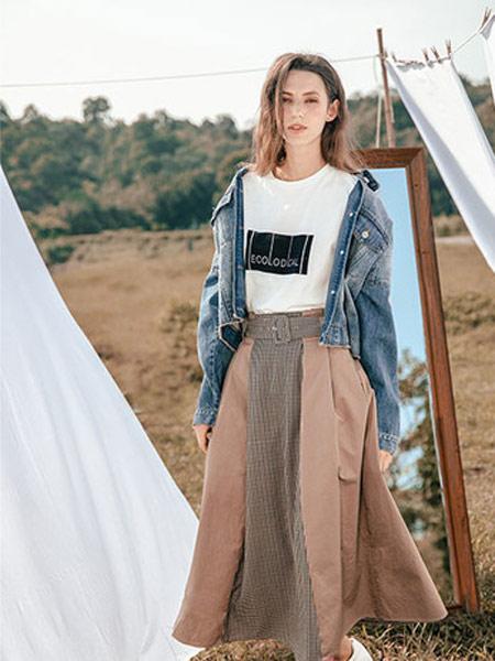Zimple女装品牌2019秋冬牛仔外套