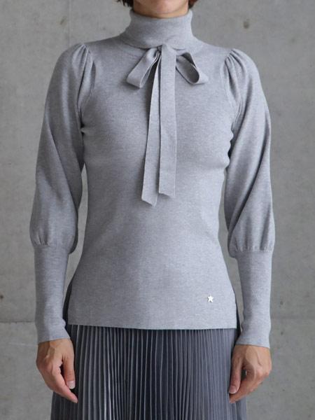 CHONO国际品牌品牌2019春夏灰色上衣