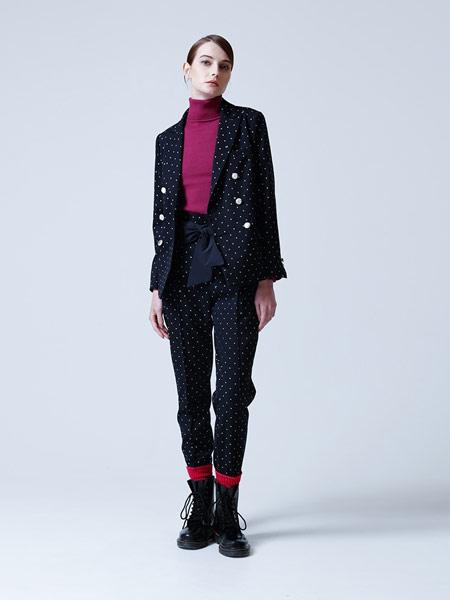 CHONO国际品牌品牌2019春夏印花黑色外套