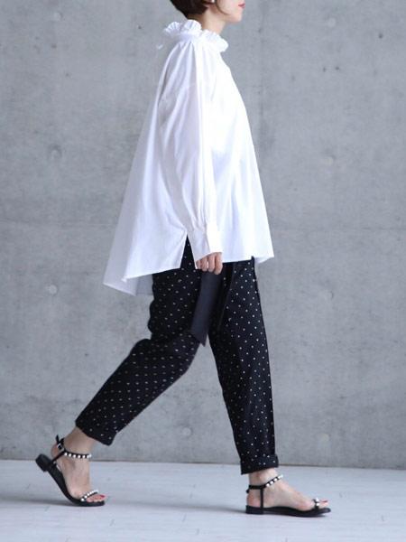 CHONO国际品牌品牌2019春夏黑色休闲裤