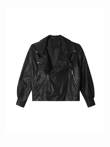 Shiroma女装品牌2019秋冬黑色外套