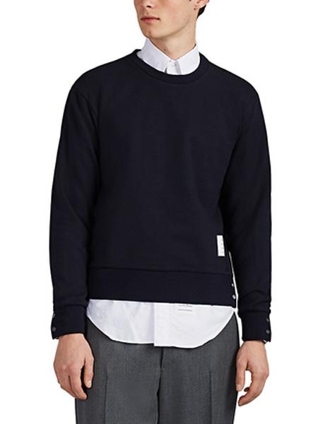 Helmut Lang(海尔姆特-朗)男装品牌2019秋冬圆领套头卫衣