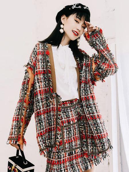 JAMEI CHEN 陳季敏女装品牌2019秋冬时尚个性外套