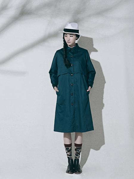 乔JOQIAODING女装品牌2019秋冬款风衣外套