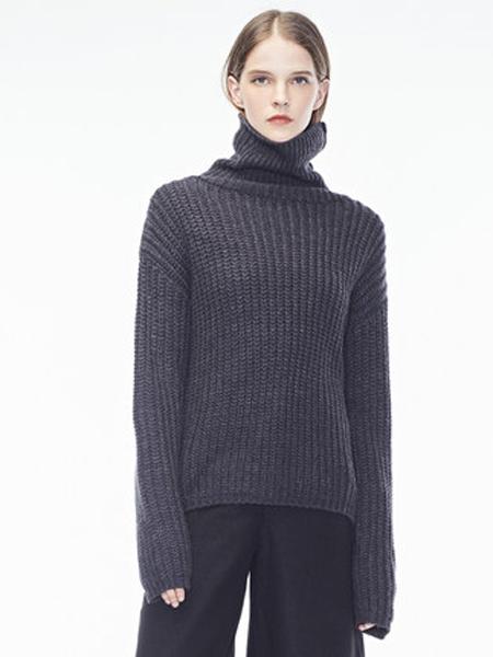 Natan女装品牌2019秋冬修身高领针织衫毛衣