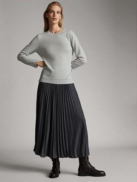 Bouchra Jarrar布什哈·加拉尔女装品牌2019秋冬圆领针织衫