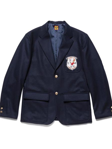HUMAN MADE男装品牌2019秋季休闲条纹外套