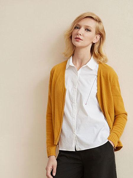 印象草原女装品牌2019秋冬新款开衫外套针织衫