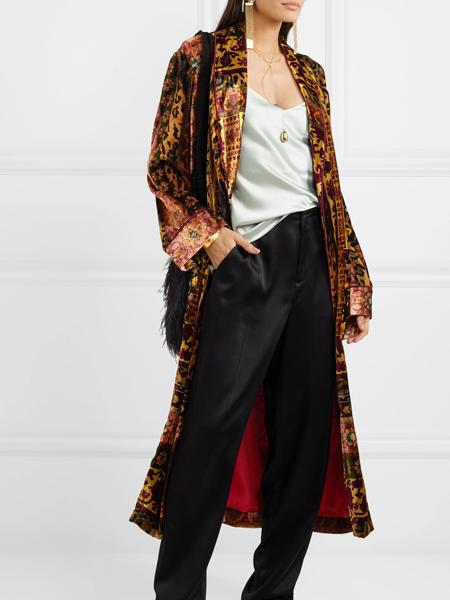 Taller Marmo女装品牌2019秋冬长款时尚外套