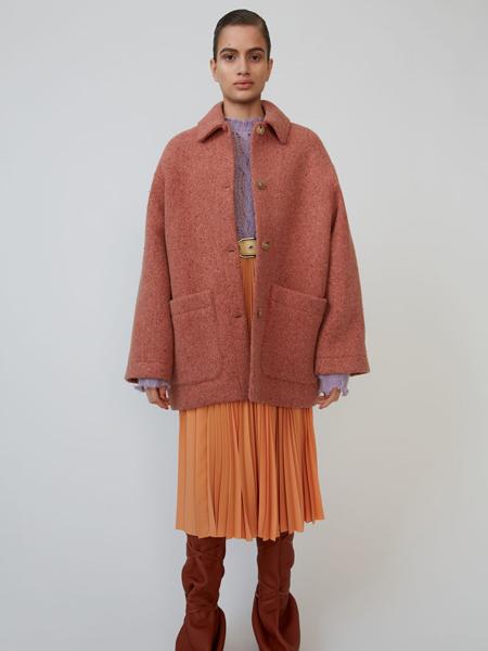 Taller Marmo女装品牌2019秋冬毛呢短款外套