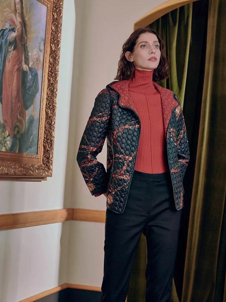 雅迪斯女装品牌2019秋冬x型短款外套