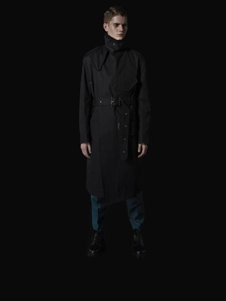 Yuki Hashimoto国际品牌品牌2019秋冬宽松大衣