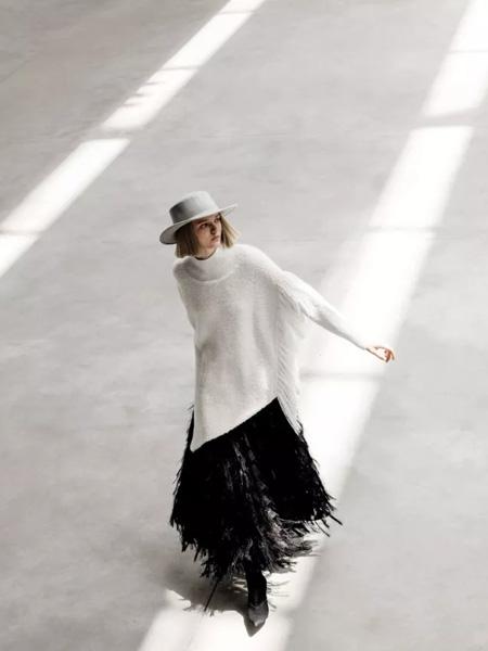 IDPAN女装品牌2019秋冬羊毛衫套头衫