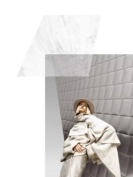 IDPAN女装品牌2019秋冬羊毛衫外套