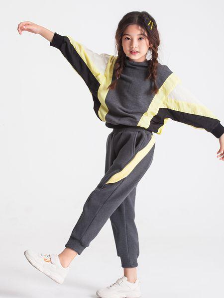 POD DRAW(PODD)童装品牌2019秋冬羊毛衫套头衫