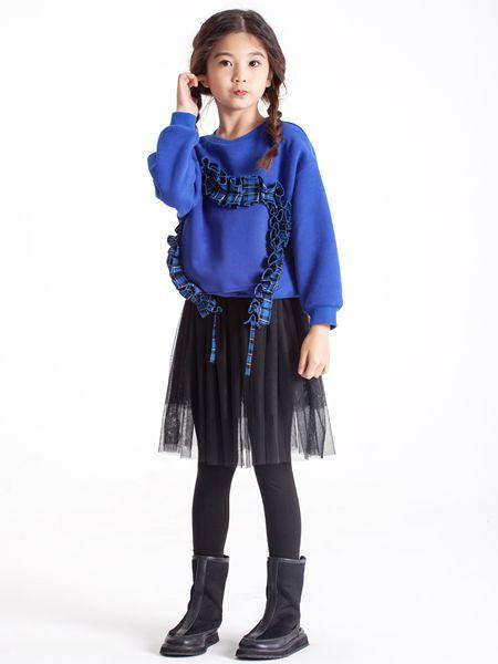 POD DRAW(PODD)童装品牌2019秋冬圆领卫衣