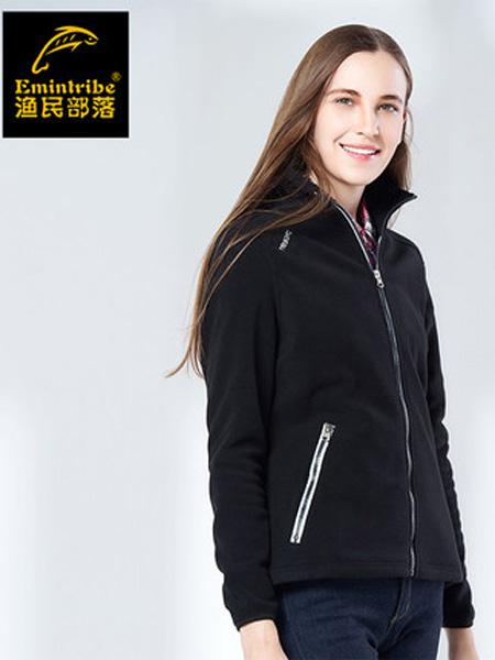 渔民部落Emintribe女装品牌2019秋冬加厚保暖外套