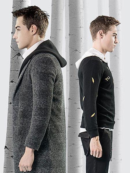 它钴TARGUO男装品牌2019秋冬毛呢外套