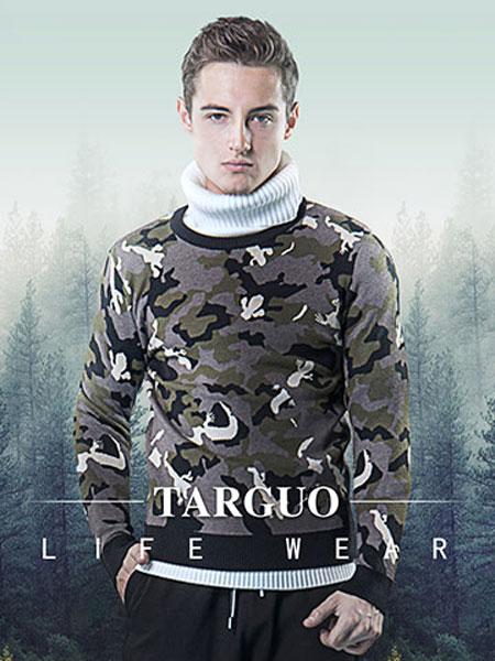 它钴TARGUO男装品牌2019秋冬加绒打底衫