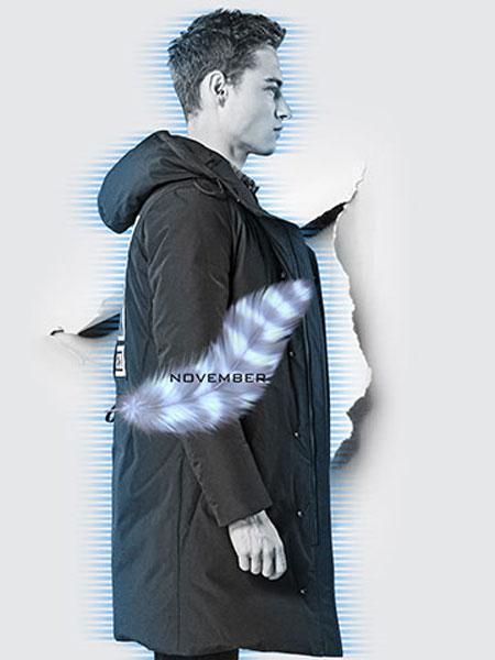 它钴TARGUO男装品牌2019秋冬轻薄加绒棉服