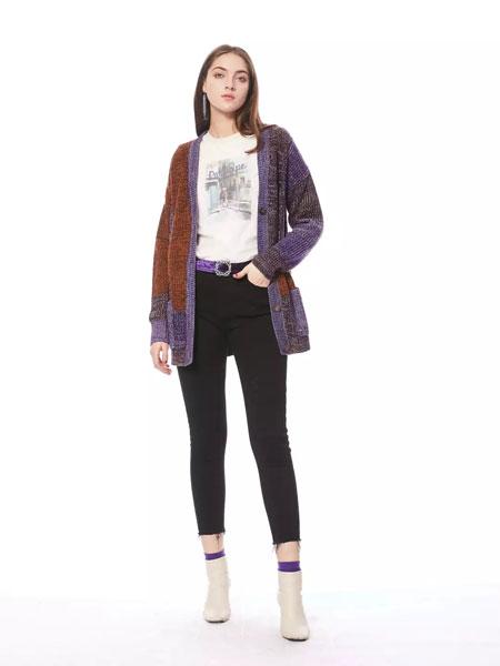 索玛女装品牌2019秋冬羊毛衫针织外套