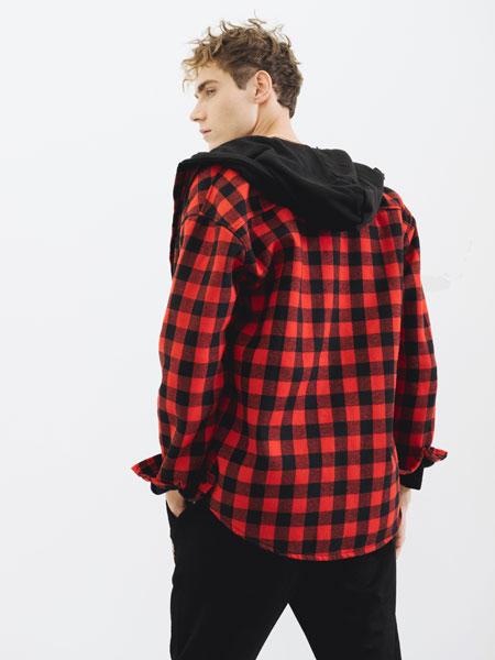 HS男装男装品牌2019秋冬衬衫外套