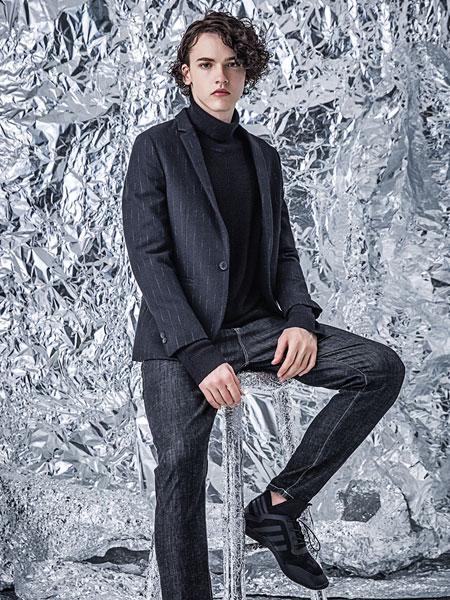 左男装品牌2019秋冬商务西装套装