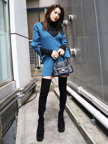 EMODA���H品牌品牌2019秋冬羊毛衫��毛衣