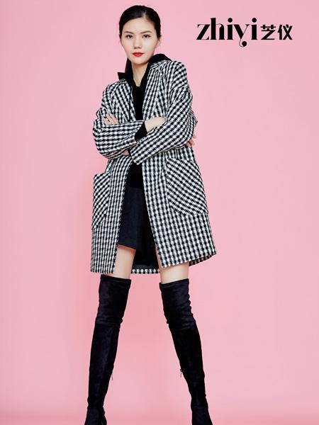 芝仪女装品牌2019秋冬新款大码宽松加厚显瘦外套