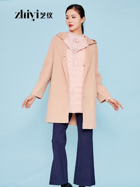 芝�x女�b品牌2019秋冬�p面呢大衣女中�L款羊毛外套