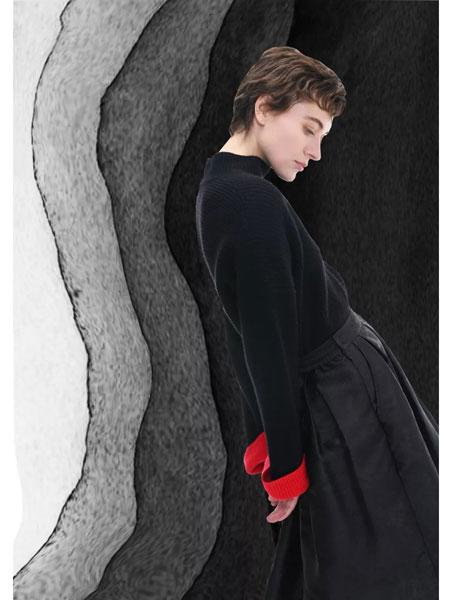 捷西非儿J.S.F.R女装品牌2019秋冬羊毛衫针织衫