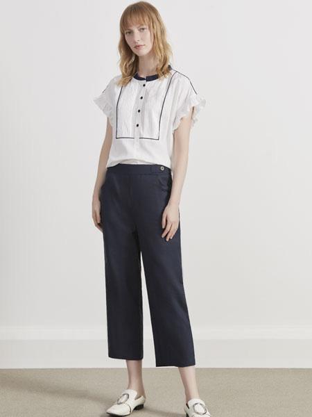你即永恒女装品牌2019春夏白色T恤上衣