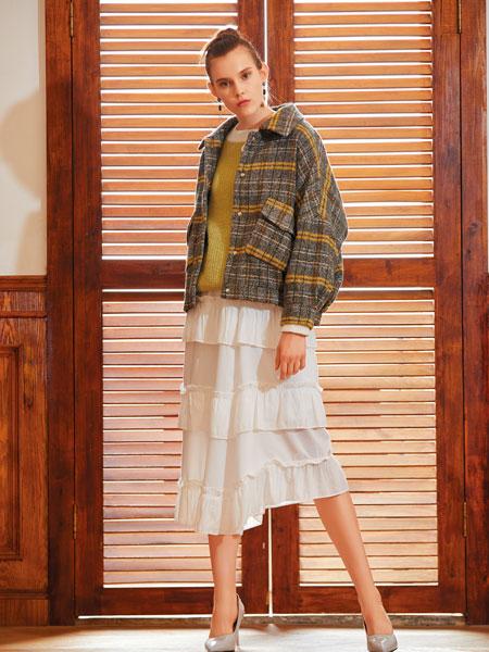 衣艾女装品牌2019秋冬时尚毛呢外套