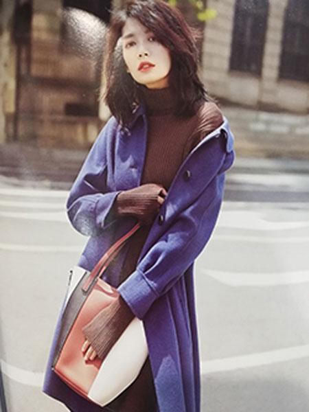子恒国际女装品牌2019秋冬时尚毛呢外套
