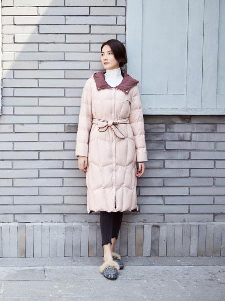 你即永恒女装品牌2019秋冬轻薄加绒保暖羽绒服