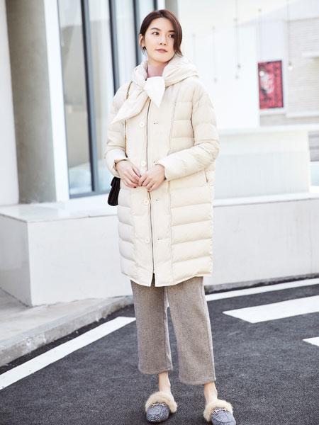 你即永恒女装品牌2019秋冬轻薄羽绒服外套