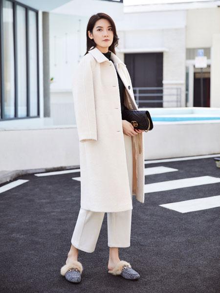 你即永恒女装品牌2019秋冬气质毛呢外套