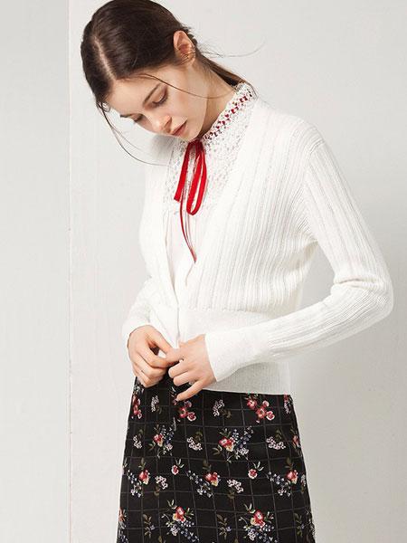 艺时尚女装品牌2019秋针织开衫外套