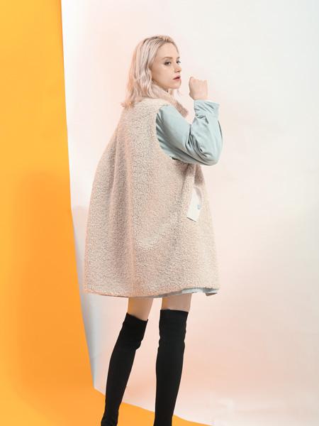 SASLAX莎斯莱思女装品牌2019秋冬加绒时尚马甲外套