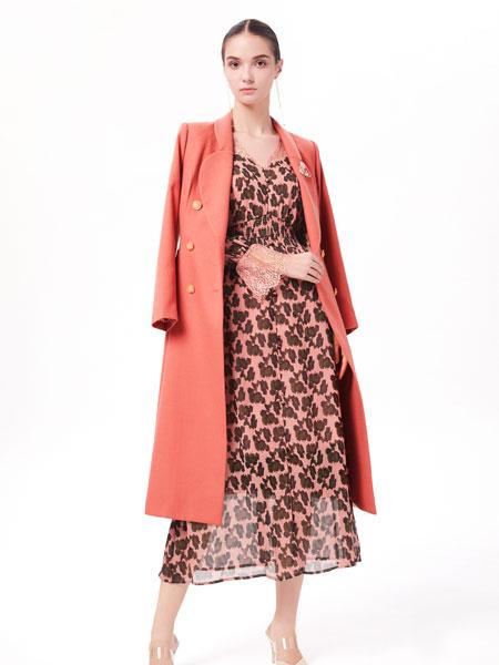 西逅女装品牌2019秋冬时尚毛呢外套